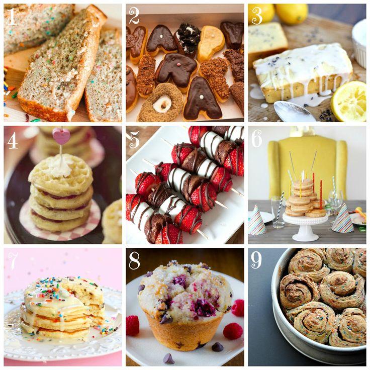 Birthday Breakfast Ideas • CakeJournal.comKids Birthday, Breakfast Buffet, Breakfast Birthday, Secret Birthday, Birthday Ideas, Birthday Breakfast Ideas