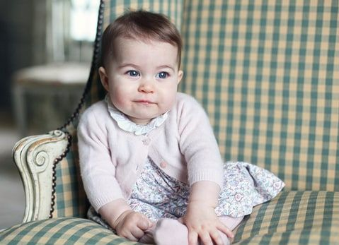 Princess Charlotte , taken with Canon EOS 5D Mark II