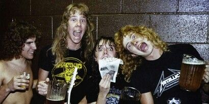 Ron McGovney/James Hetfield/Lars Ulrich/Dave Mustaine