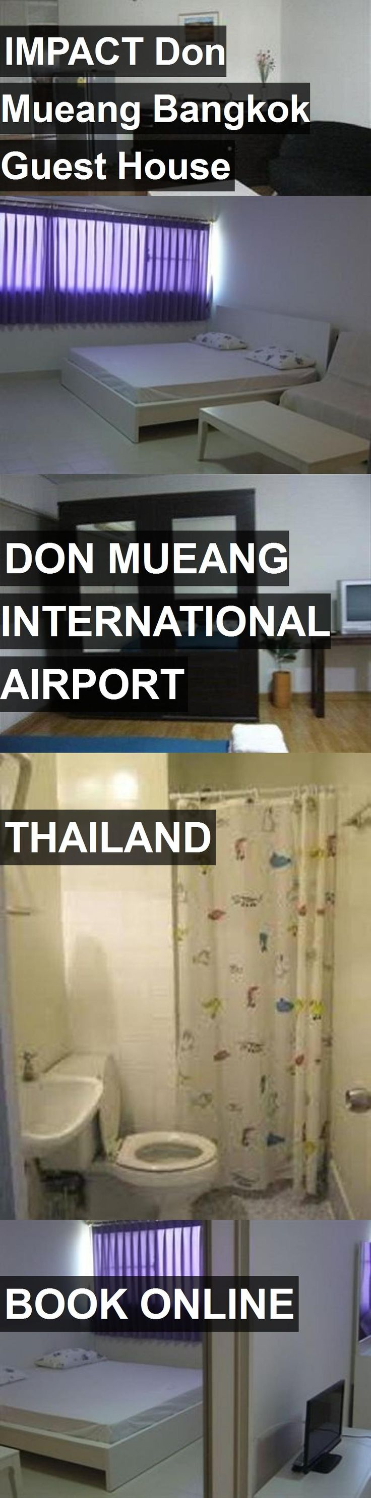 Hotel IMPACT Don Mueang Bangkok Guest House in Don Mueang International Airport, Thailand. For more information, photos, reviews and best prices please follow the link. #Thailand #DonMueangInternationalAirport #IMPACTDonMueangBangkokGuestHouse #hotel #travel #vacation