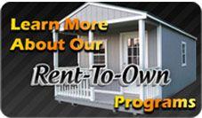 ProBuilt delivers Portable Storage Buildings, cabins, sheds, barns & more in Mississippi, Macon, Columbus, Memphis, & Alabama