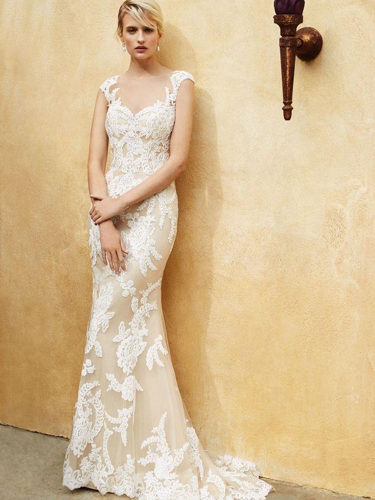 Beautiful 2016, BT16-4 front view - Enzoani 2016 Wedding Dresses | itakeyou.co.uk #weddinggown #bridal #wedding
