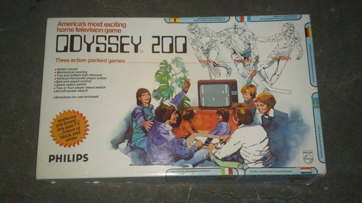 Shared by retrodataseum #magnavoxodyssey #microhobbit (o) http://ift.tt/222mWgL 200 (Philips) - Magnavox Odyssey was fist sold in 1975 in the USA. Later in 1976 Philips released Odyssey 200 in Europe and this is the box for it. #odyssey200 #magnavox #retrogames #retro #retrogaming #retrosystems