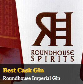 """Best Cask Gin  Our Imperial Barrel Aged Gin took top honors as the """"World's Best Cask Gin""""!  Our Roundhouse Gin held its own by earning Silver in the """"Contemporary Style Gin"""" category. Be sure to stop by the distillery if you haven't tried these award winning spirits yet!"""