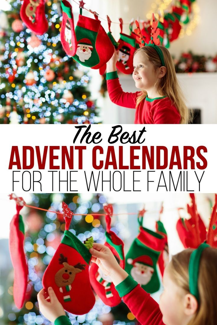 The Best Advent Calendars For The Whole Family Advent Calendars