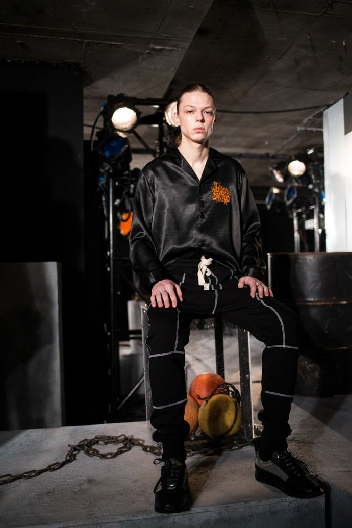 London Fashion Week Men´s:Blood Brother is a British fashion brand with a cutting-edge approach to creating menswear. During London Fashion Week Men´s the b