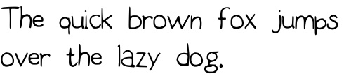 Handwriting font creator