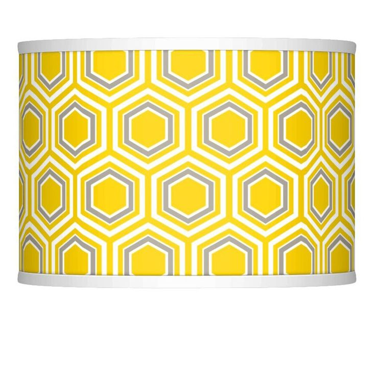 Honeycomb Giclee Glow Lamp Shade 13.5x13.5x10 (Spider) - Style # 37869-2R630