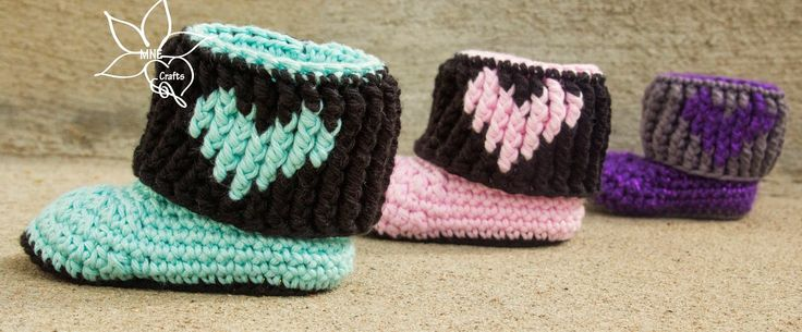 MNE Crafts: The Emy's Booties