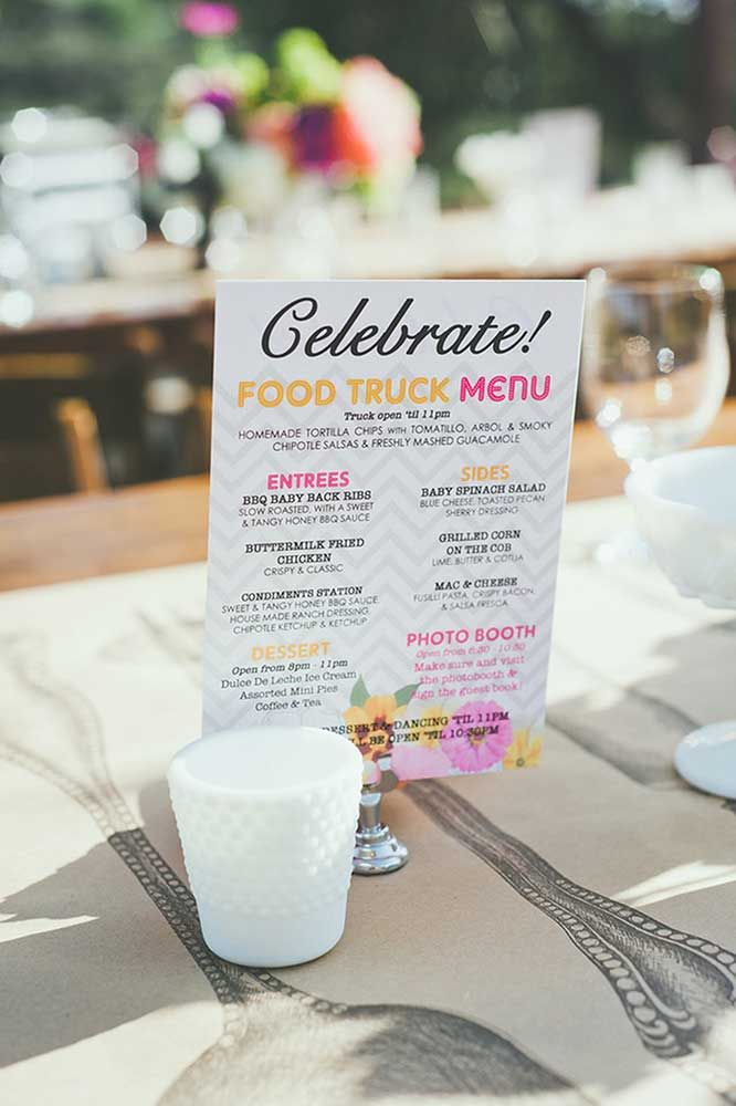 Border Grill Catering Wedding food truck menu                                                                                                                                                     More