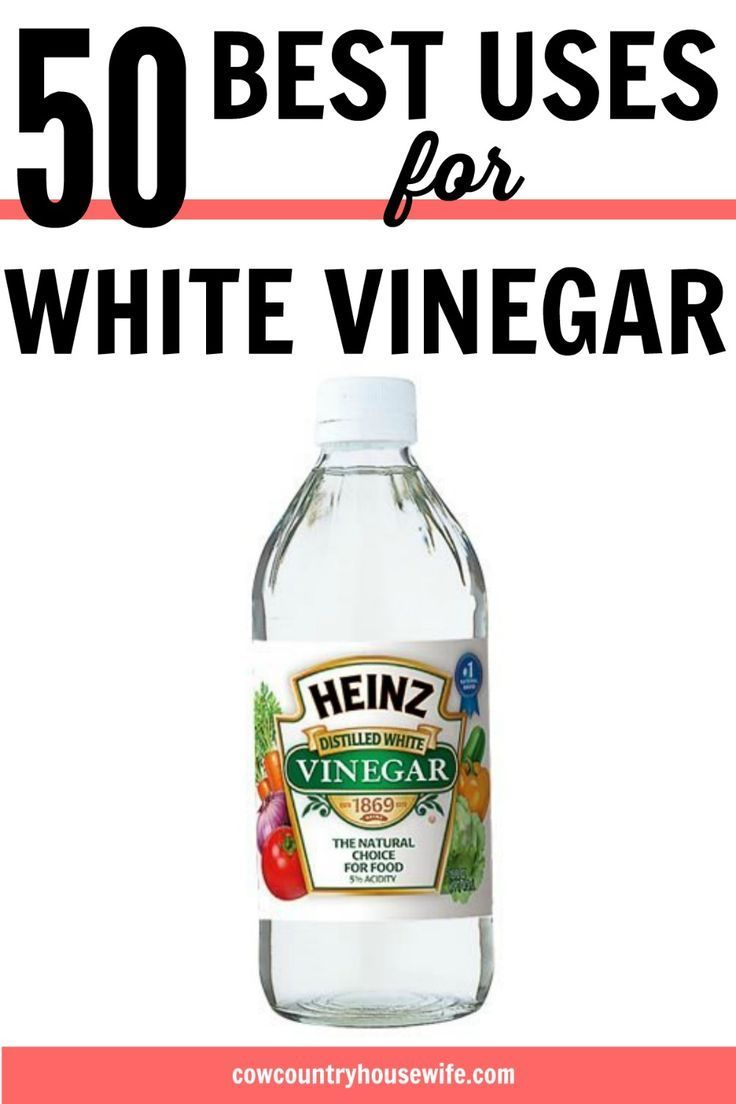 17 Best Ideas About White Vinegar On Pinterest White