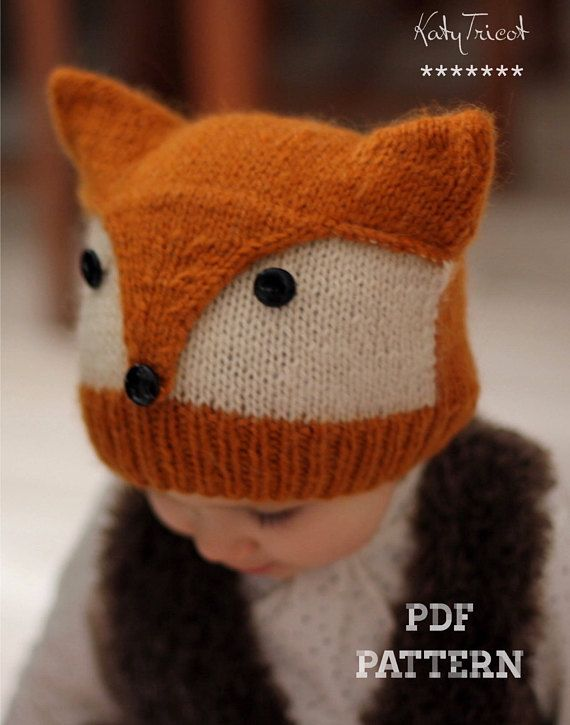 It is a KNITTING PATTERN ONLY, not the actual hat, so that you can make the item yourself with your own choice of yarn and color. NOTE: Patterns are a final sale, due to their digital nature they cannot be returned or refunded. This pattern is available in ENGLISH and FRENCH (you will get 2 PDF files when buying the pattern). A wild little friend to adorn your little one's head and add some whimsy to his winter wardrobe! It is completely seamless and keep your needles engaged, using ...