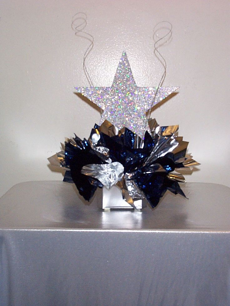 Best star centerpieces ideas on pinterest theme