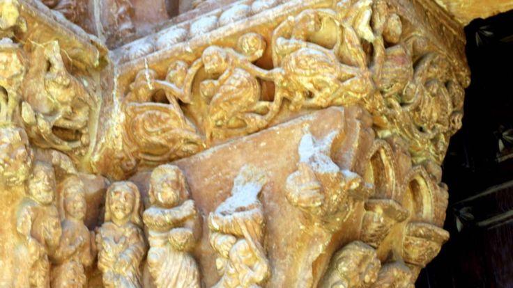 Fotos de: Soria - Románico - Iglesia de Santo Domingo - Capiteles