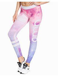 Galaxy Logo Tights - Aim'n - Multicolor - Tights - Sportsklær - Kvinne - Nelly.com