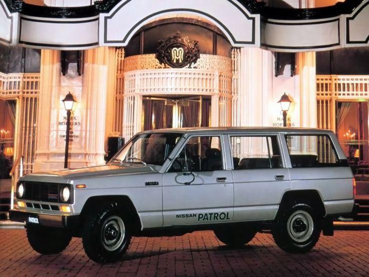 Datsun Patrol Station Wagon (160) '1980–83