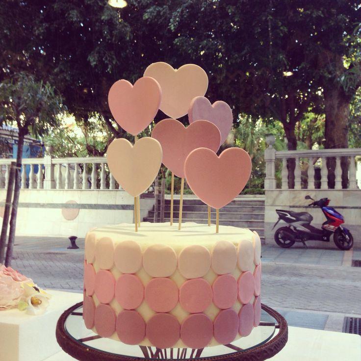 Valentine's cake. Tarta San Valentín. Tiny Cake Secret