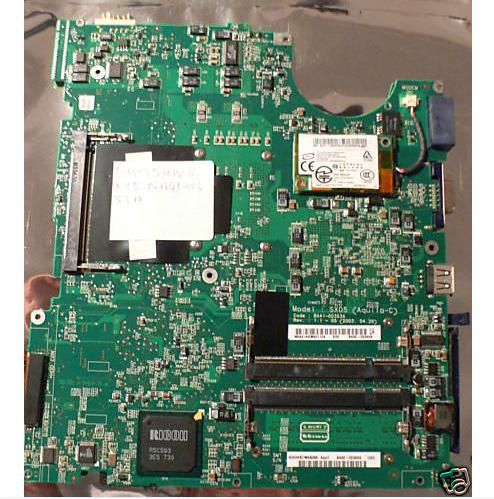 Category: HP Compaq Laptop System Boards Manufacturer: HP Compaq Specifications: System board (motherboard) - With ATI RS480 chipset - Full-featured 3 USB 2.0 ports S-Video port and IEEE-1394a port - 1600 x 1200 external resolution at 75Hz (Pavilion) Etat: Refurbished, Tested and Guaranteed to Work Perfectly