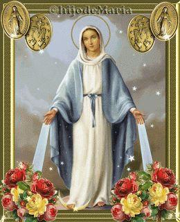 Santoral: Santoral del 27 de Noviembre Nuestra Señora de la Virgen milagrosa
