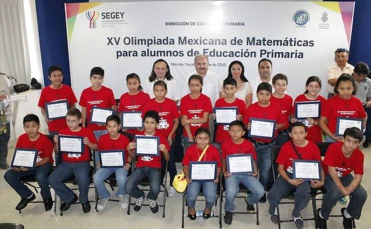 Realizan selectivo de equipo que participará en Olimpiada de Matemáticas