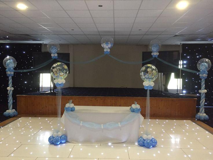 Stage deco and cake table deco#bni balloons Wolverhampton