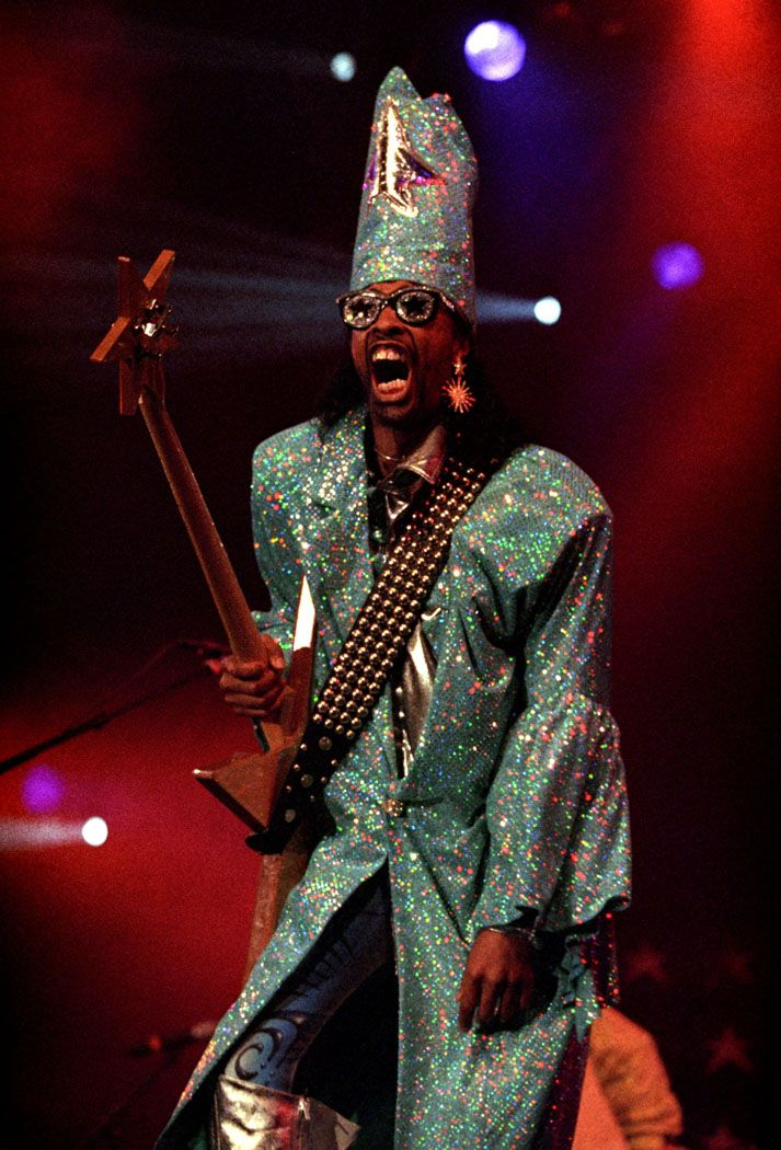 1998 Bootsy Collins Funk music, Black music artists