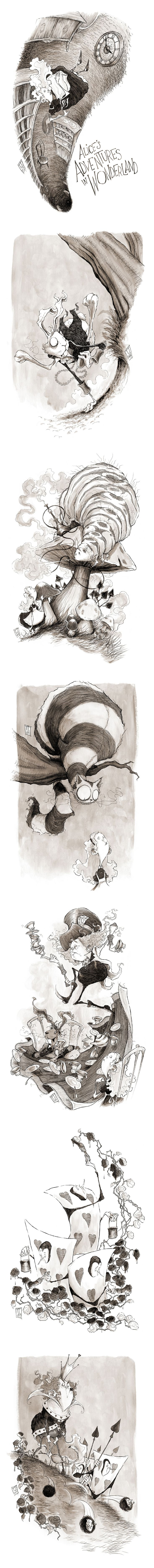 Alice's Adventures in Wonderland by Ripplen.deviantart.com on @deviantART