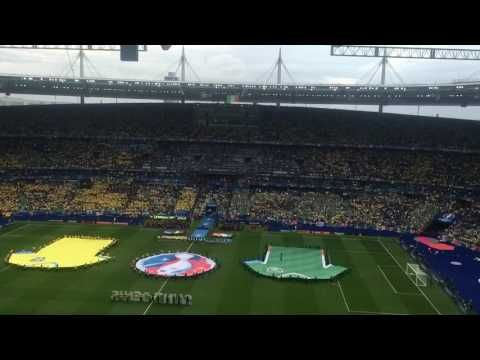 Spine Tingling Irish National Anthem, Amhran Na bhFiann, Euros 2016, Ireland V Sweden, Stade de Fra - YouTube