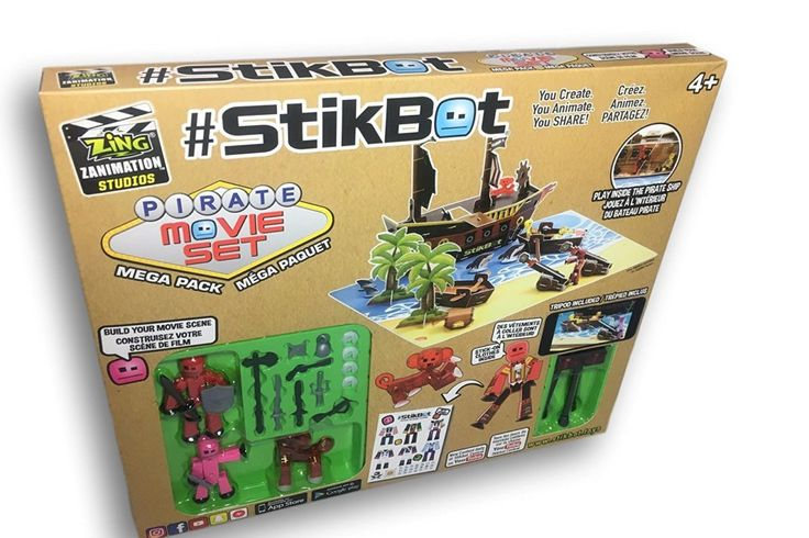 Introducing Stikbot Movie Sets. Stikbot continues turn kids into creative stop-motion animation moviemakers. A fun and creative gift.