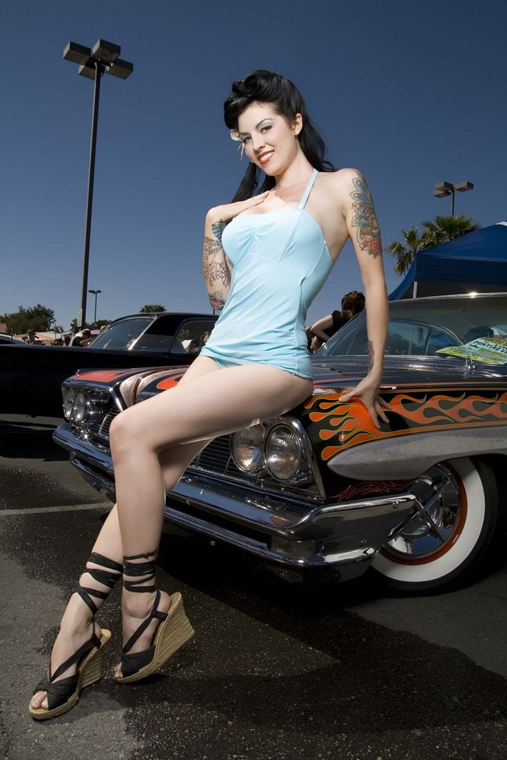 April Bowlby: Hotrods Pinup, Pinup Style, Rockabilly Hairstyles, Pinup Hairstyles, Photography Rockabilly, Pinup Girls, Hot Rods Pinup, Pin Up, Motors Girls