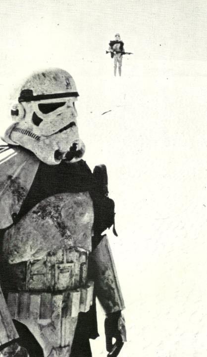 Star Wars Storm Trooper Tatooine comb the desert