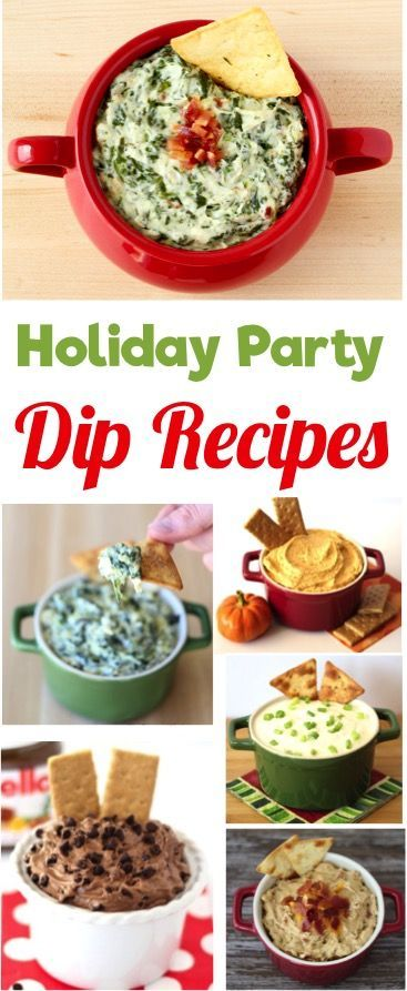 23 Easy Party Dip Recipes - perfect for Holiday Parties! | TheFrugalGirls.com