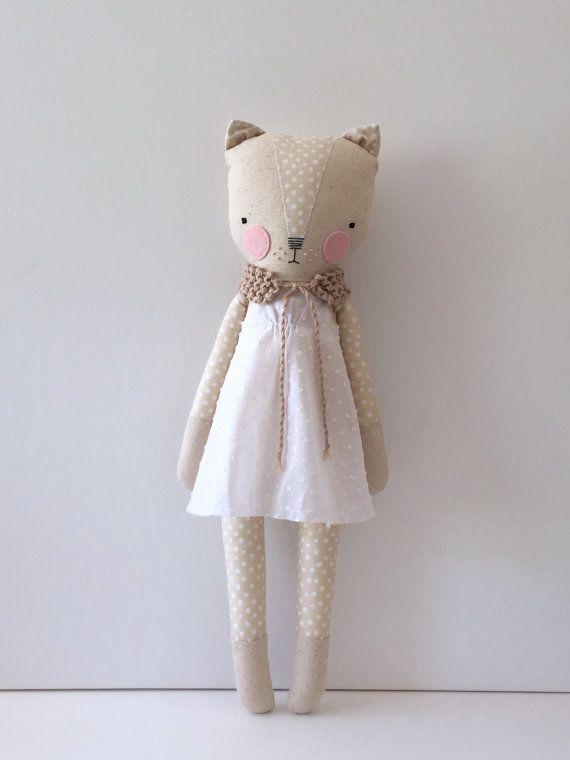 luckyjuju kitty girl - cat lovie - doll