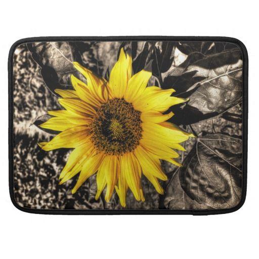 Sunflower Sleeve For MacBook Pro