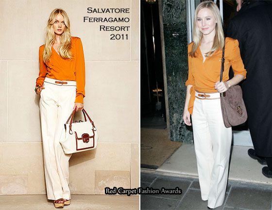 Sidewalk �London� Style � Kristen Bell