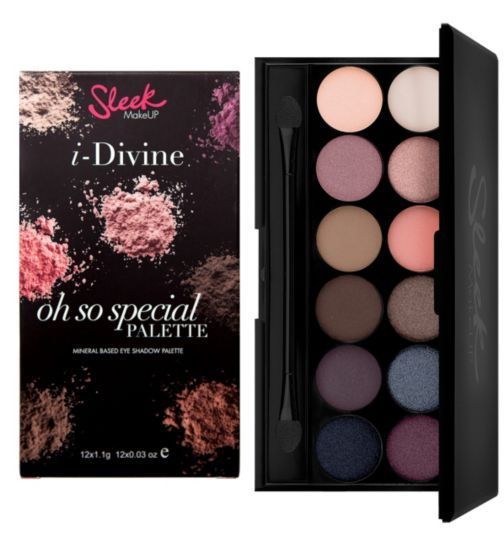 Sleek MakeUp i-Divine Eyeshadow Palette- Oh So Special - Boots