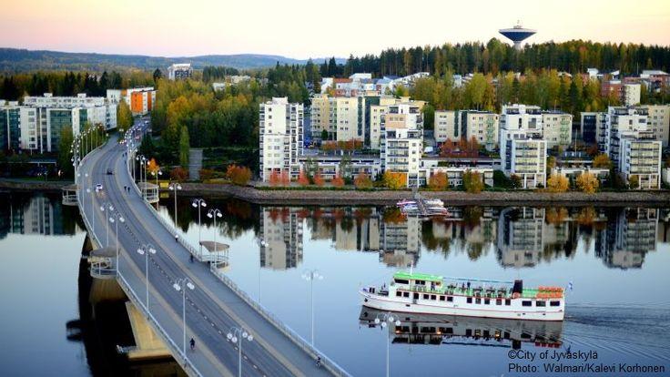Autumn in Jyväskylä. ©City of Jyväskylä Photo: Walmari/Kalevi Korhonen.