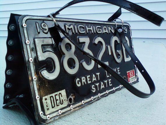 license plate bag - Google Search