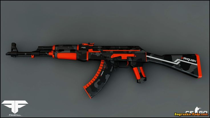 Skin AK-47 Vanquish for CS:GO » Zagruzka-Mods.com - Download game mods