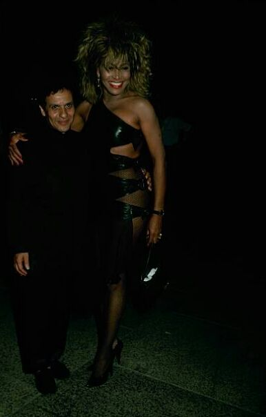 Tina Turner and Azzedine Alaïa