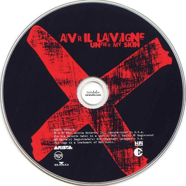 Avril Lavigne Under My Skin Del 2004 CD. Caratulas de Música. Covers... ❤ liked on Polyvore featuring fillers, music, avril lavigne, accessories and avril