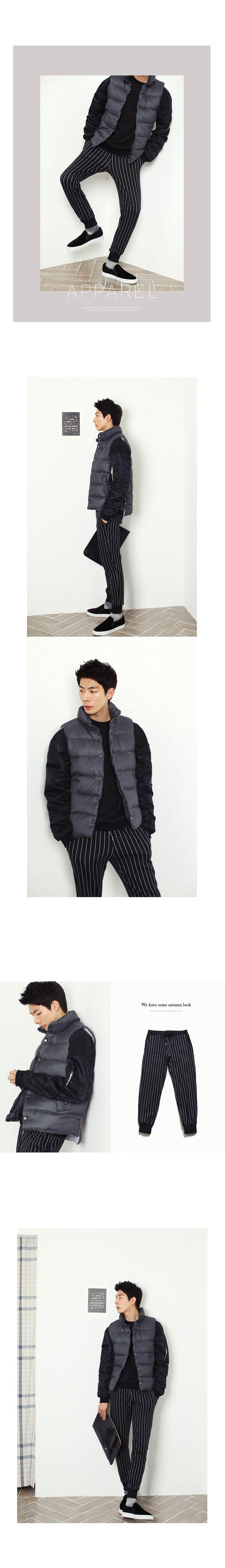 ストライプパターンウエストゴムパンツ・全2色パンツ・ズボンパンツ・ズボン通販 | メンズファッション 通販サイト【ディーホリックメンズ DHOLIC MEN'S】