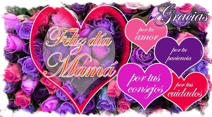 ¡Visita nuestro Fan Page y comparte en el día de las madres un mensaje creativo para ellas!