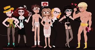 Image result for rocky horror picture show fan art