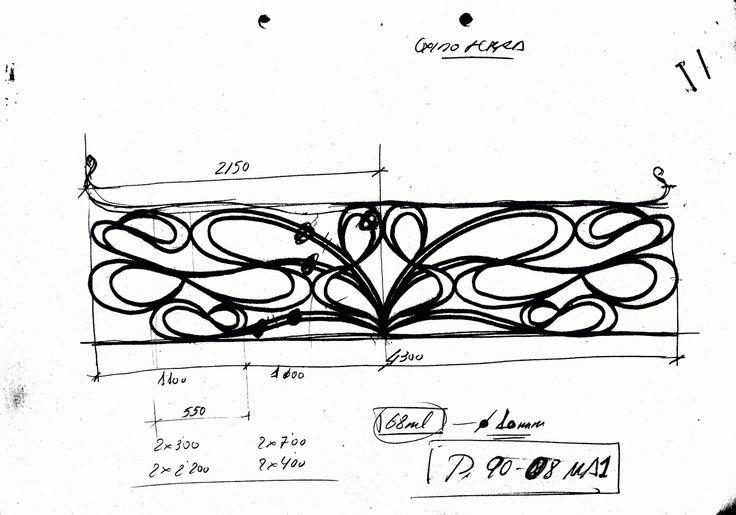 M s de 25 ideas incre bles sobre barandillas de hierro for Barandillas hierro forjado