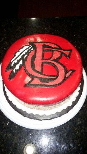 Pin Redskins Cake Dulce Cake On Pinterest
