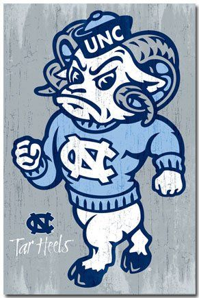 unc fathead | University of North Carolina Tarheels NCAA Poster at Amazon.com