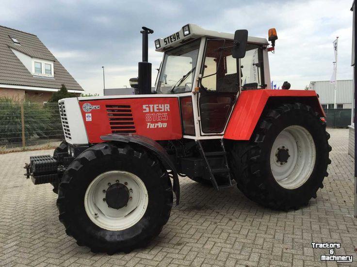 steyr 8165 turbo �� tractor mania �� pinterest steyr