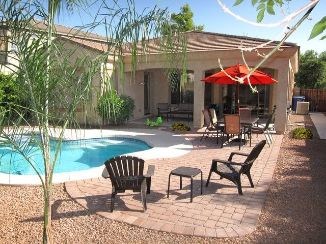 Your Backyard Oasis  Beautiful Home in Phoenix, Gilbert | RentalHomes.com #USA #travel #vacation #pool