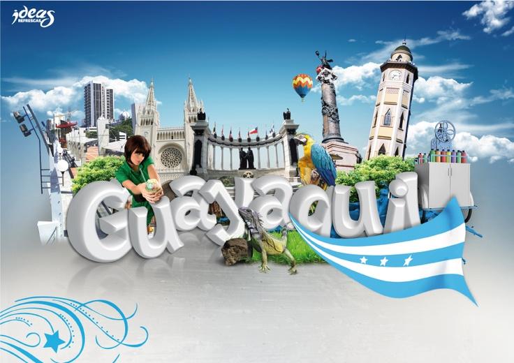 Ciudad de Guayaquil.  Bruno Vásquez- MMDesign